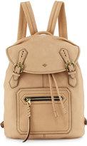 Oryany Jaylin Leather Backpack, Almond