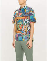 Paul Smith Artist Studio tailored-fit printed cotton shirt