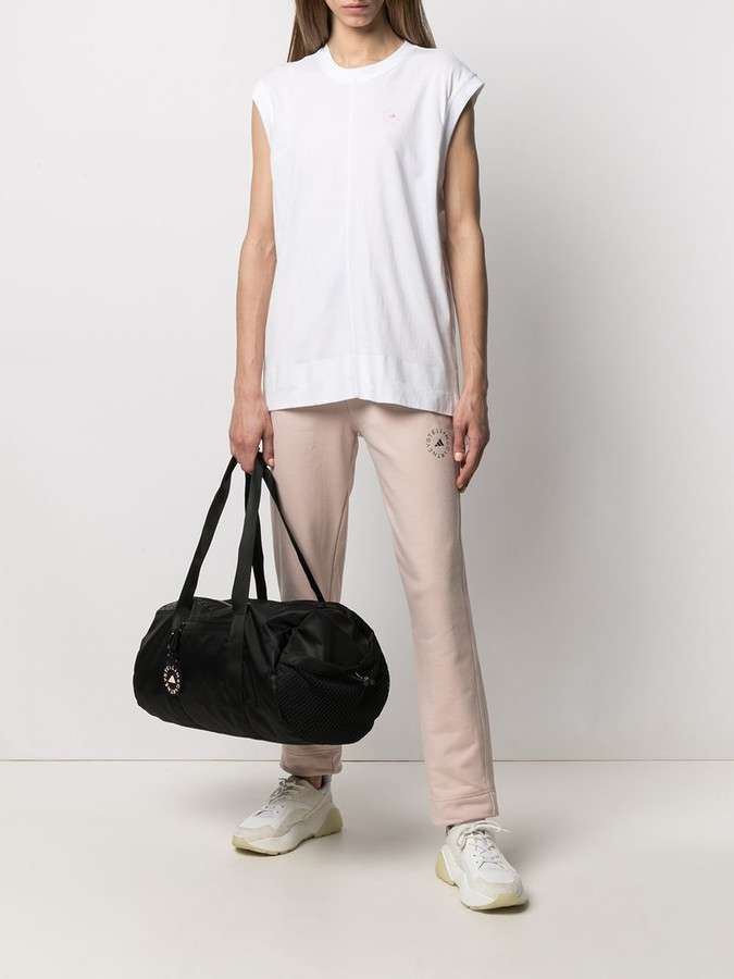 Thumbnail for your product : adidas by Stella McCartney Logo-Print Tank Top