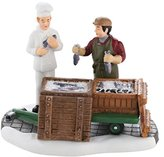 Department 56 Christmas in The City Village, The Day's Catch Accessory, 2.75-Inch