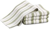 Williams-Sonoma Williams Sonoma Classic Striped Dishcloths, Sage