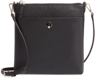 Kate Spade Small Polly Leather Crossbody Bag