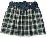 Ralph Lauren Plaid Cotton Oxford Skirt