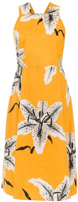 OSKLEN Midi Printed Dress