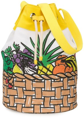 Stella McCartney Fun Fruit Bucket Bag