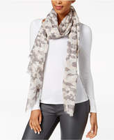 Steve Madden Twinkle Camo Wrap and Scarf in One