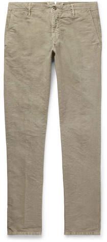 Incotex Slim-Fit Stretch-Cotton Chinos