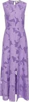 Diane von Furstenberg Fil Coupe Flared Dress