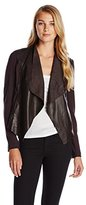 KUT from the Kloth Women's Lincoln Faux Leather Wrap Jacket