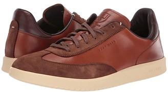 Cole Haan Grandpro Turf Sneaker (British Tan Tumbled/British Tan Suede) Men's Shoes