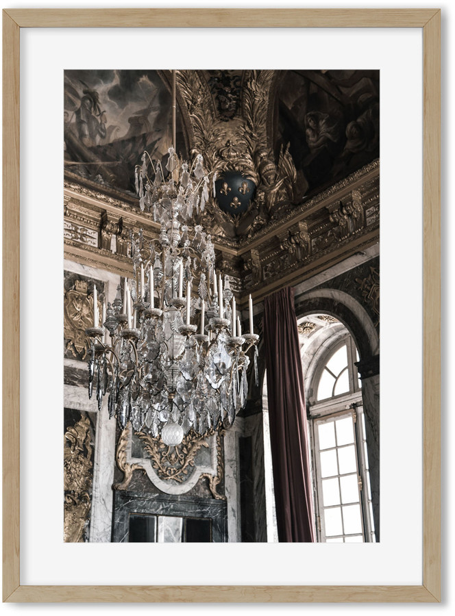 H&M Chandelier Art Print