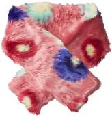 Paul Smith Pow Faux Fur Scarf Scarves