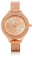 New York & Co. Sparkling Bangle- Bracelet Watch