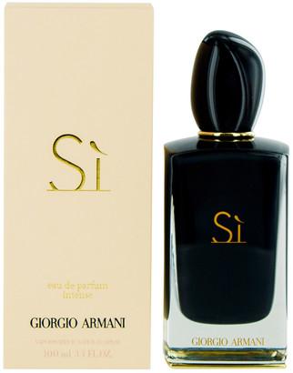 Giorgio Armani Women's 3.4Oz Si Intense Eau De Parfum Spray