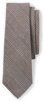 Lands' End Men's Long Silk Prince of Wales Necktie-Prince Of Wales