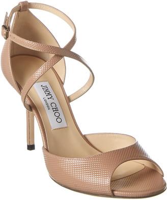 Jimmy Choo Emsy 85 Patent Sandal