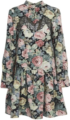 VIVETTA Flora Pattern Dress