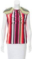 Peter Pilotto Silk Abstract Top