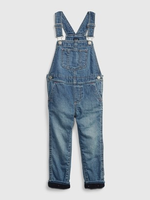Gap Toddler Lined Overalls