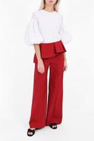 Rosie Assoulin Ruffle Flap Trousers