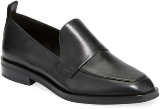 3.1 Phillip Lim Alexa Slip-On Leather Loafers