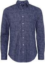 Regular Fit Tweed Print Shirt
