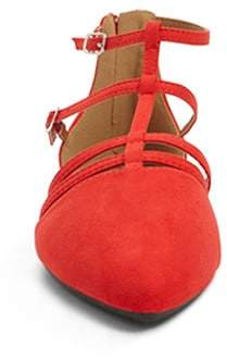 Thumbnail for your product : Forever 21 Qupid Pointed Toe Caged Flats