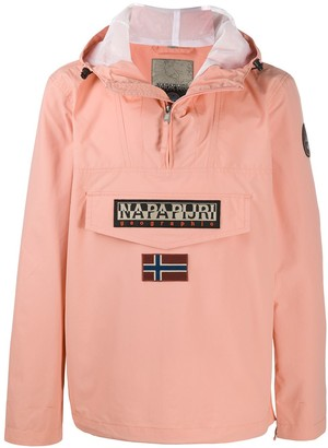 Napapijri Rainforest flag patch jacket