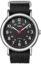 Timex Weekender Black Fabric Strap Watch T2N647