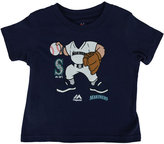 Majestic Toddler Boys' Seattle Mariners Pint-Sized Pitcher T-Shirt