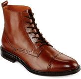 STAFFORD Stafford Gunner Mens Cap Toe Leather Boots