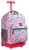 """J World JWorld 18"""" Sunrise Rolling Backpack"""