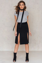 Filippa K Double Split Skirt