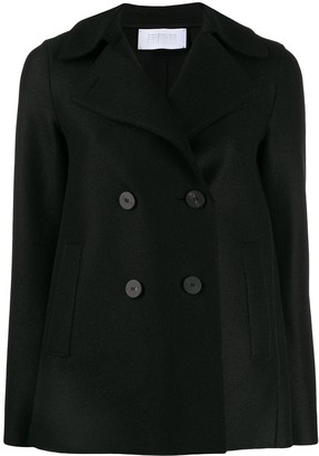 Harris Wharf London Straight Double-Breasted Jacket