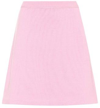 Miu Miu Cashmere miniskirt
