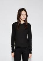 Proenza Schouler Superfine Merino Crewneck Sweater