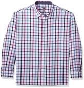 Van Heusen Men's Big Never Tuck Long Sleeve Shirt