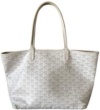 Goyard Artois White Cloth Handbags