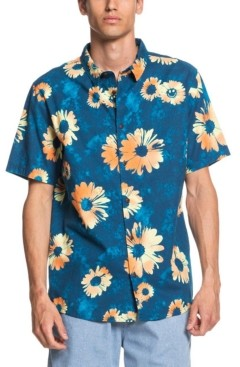 Quiksilver Men's Daisy Spray Short Sleeve Woven