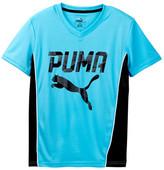 Puma Contrast Piecing Tee (Big Boys)