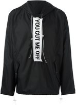 Off-White 'You Cut Me Off' anorak jacket