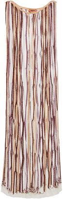 Missoni Open-knit Wool-blend Maxi Dress
