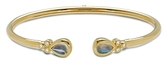Temple St. Clair 18K Yellow Gold Bellina Bracelet with Royal Blue Moonstone and Diamonds