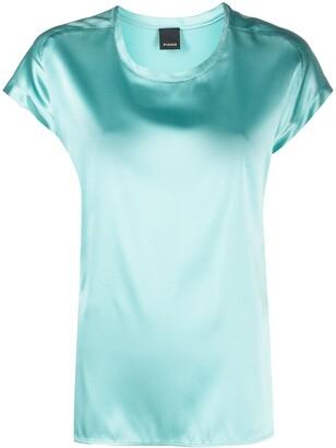Pinko Silk Satin T-Shirt