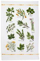 "Sur La Table Varietal Herbs Kitchen Towel, 28"" x 20"""