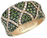 LeVian Exotics Multi-Color Diamond and 14K Honey Gold Ring