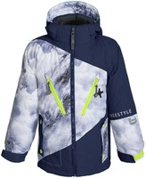 Big Chill Snow Print System Ski Jacket - 3-in-1, Insulated (For Little Boys)