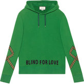 Gucci Cotton sweatshirt with appliqué - men - Cotton - XS
