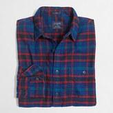 J.Crew Factory Plaid flannel workshirt