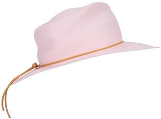 Forte Forte Light Pink Woven Fedora